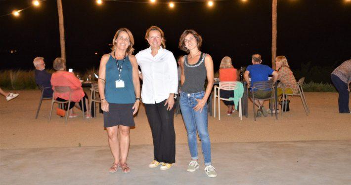 Sandra Bisbe, Iolanda Bustos i Anna Pérez, les protagonistes