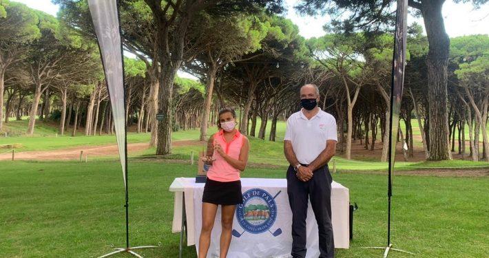 Alba Alós, promesa gironna del golf